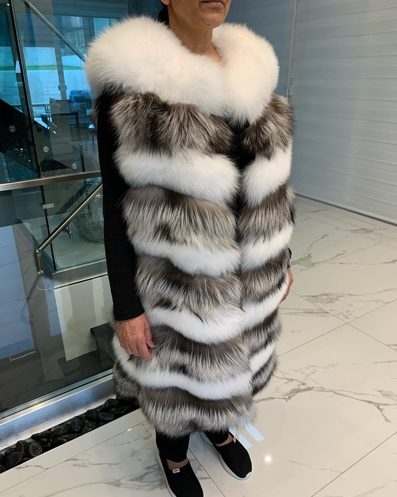 Image of Milan Fox Fur Vest