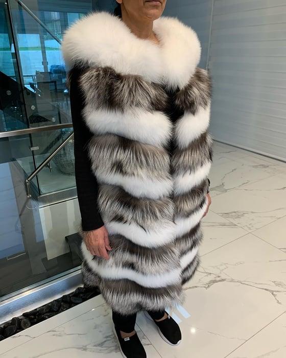 Image of Milan Fox Fur Vest