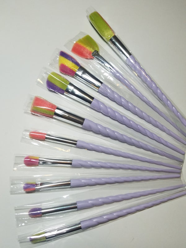 Image of Unicorn Makeup Brush Set