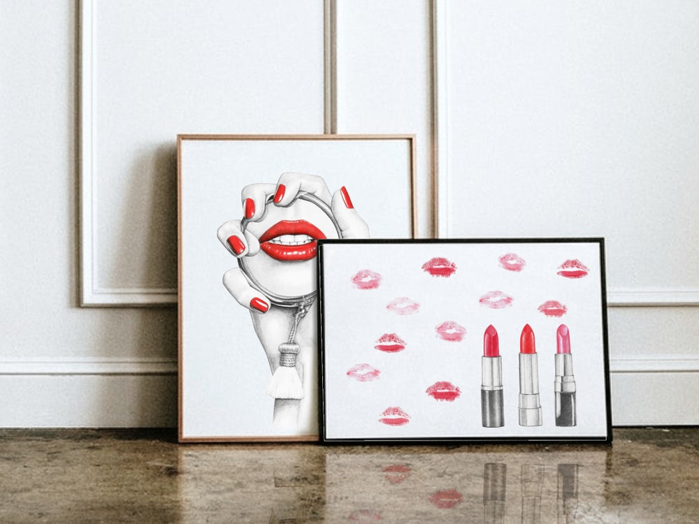 Image of KISS - GICLEE PRINT A3/A4/A5