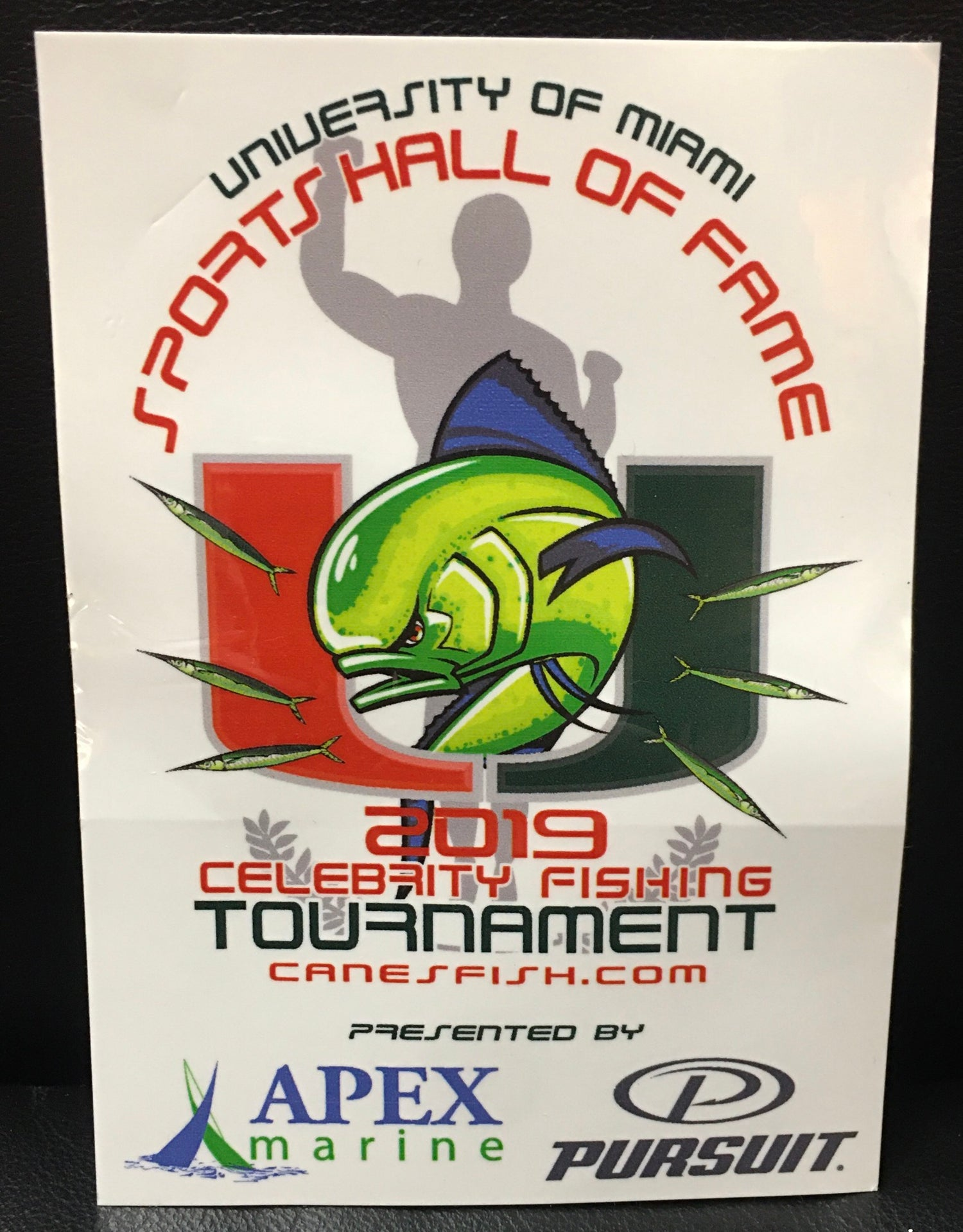 Image of 2019 UMSHoF Celebrity Fishing Tournament Sticker
