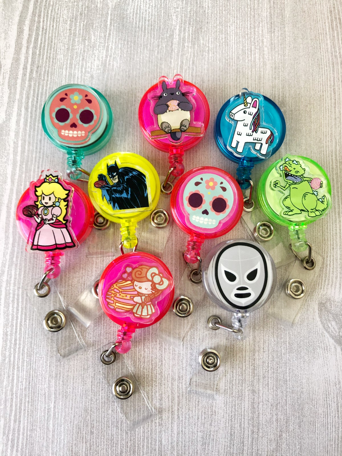 Acrylic Badge Reels