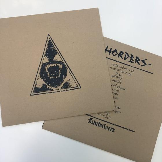 Image of HORDERS 'fimbulvetr' LP ltd cover white