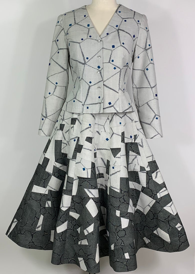 Image of Reconstruct, Jacket and Skirt