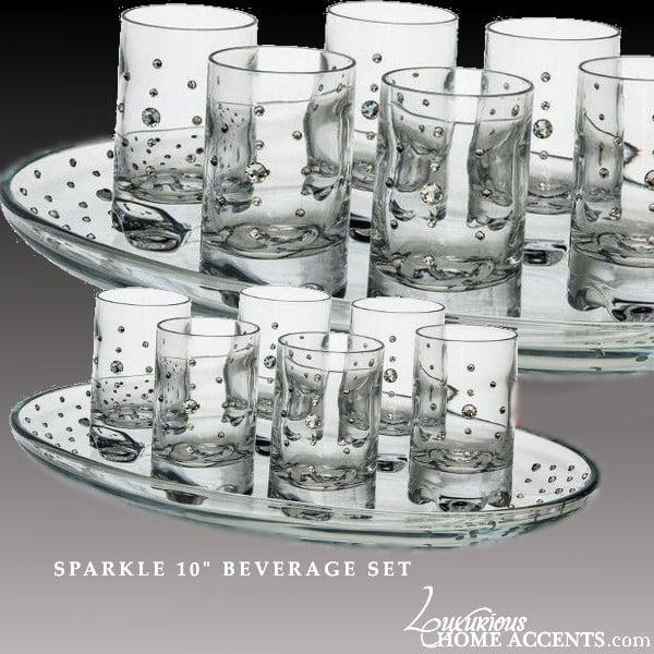 """Image of Sparkle 10"""" Beverage Set"""
