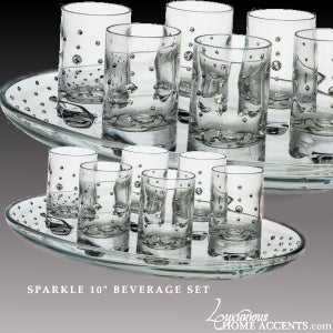 "Image of Sparkle 10"" Beverage Set"