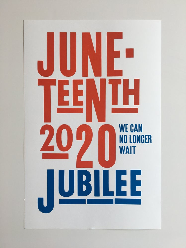Image of Juneteenth 2020 poster