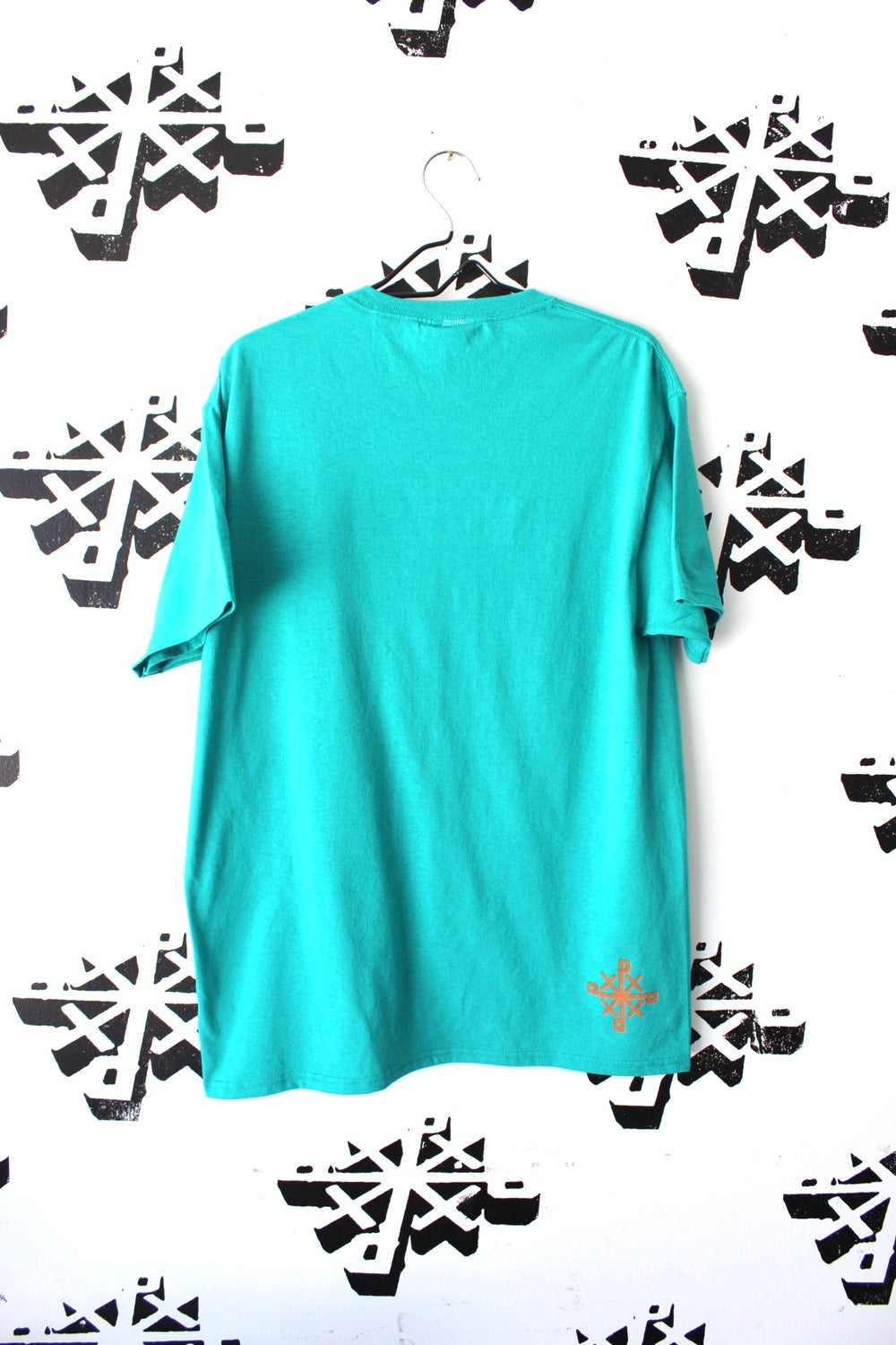 that one tee in teal