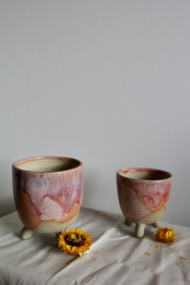 Image of Footed Sunset Planters