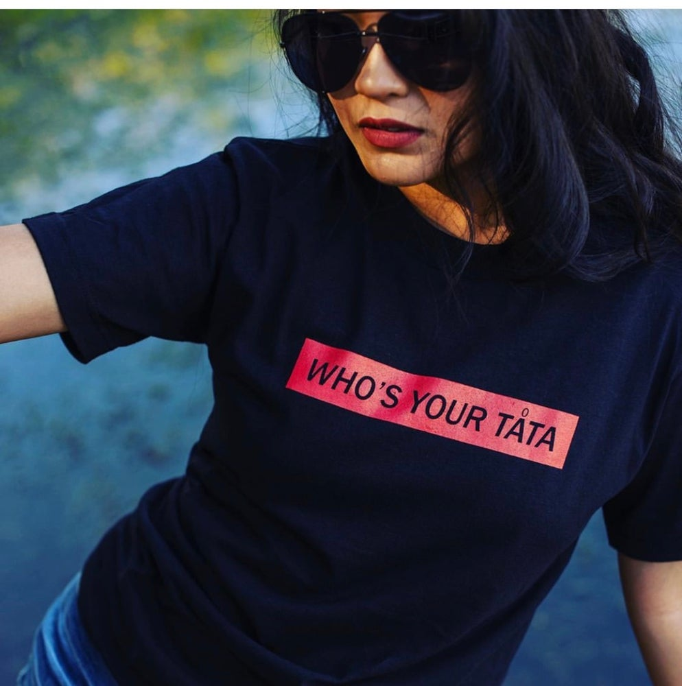 Image of WHO'S YOUR TATA Tee