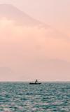 Sailor on Lake Atitlán