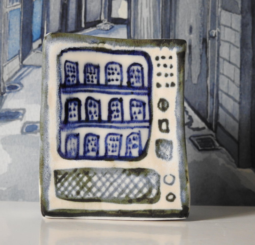 Image of Porcelain Vending Machine - mini sculpture VIII