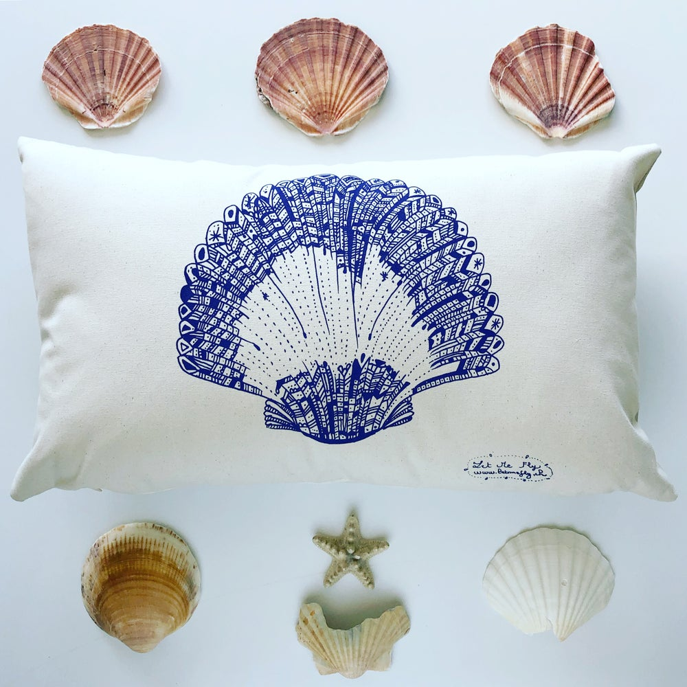 Image of Coussin *Coquillage* 30 x 50 cm
