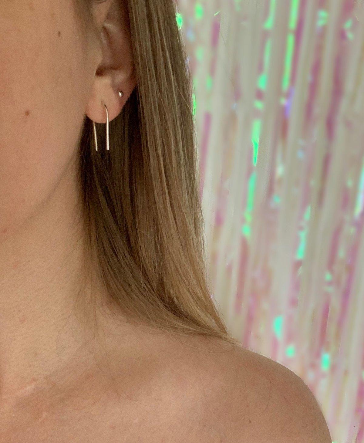 Drop Thread Earrings