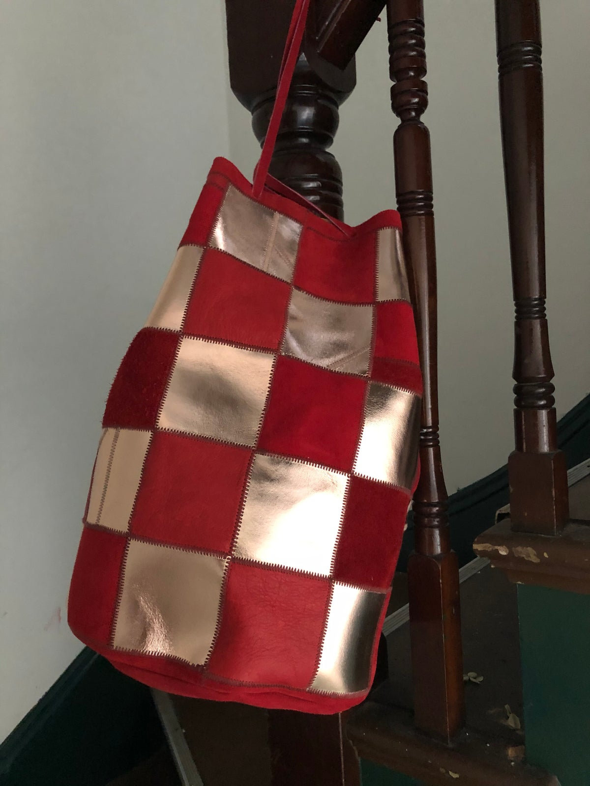 Image of Checkerboard Bucket