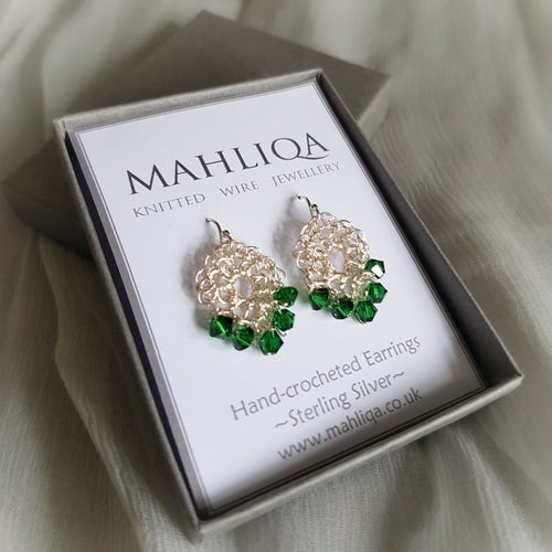 Image of PETITE TEARDROP EARRINGS - Rainbow Collection