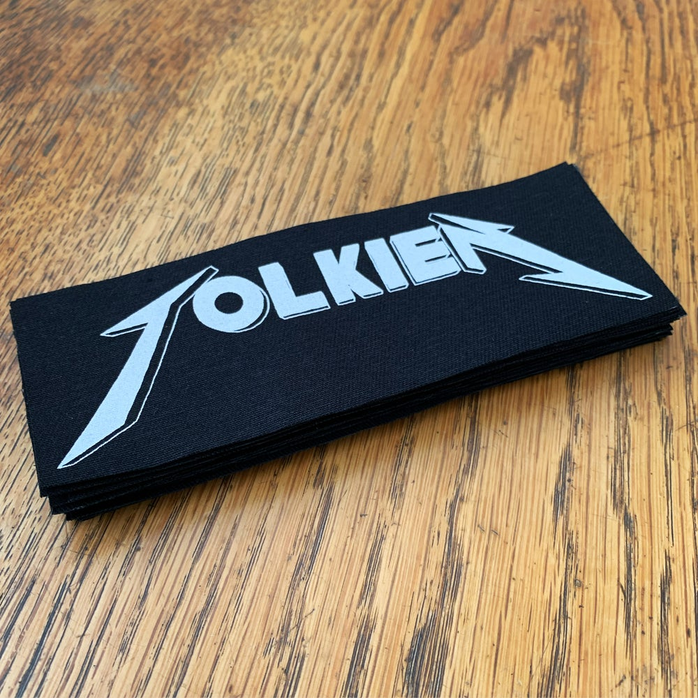 Image of TOLKIEN *Screen printed patch*