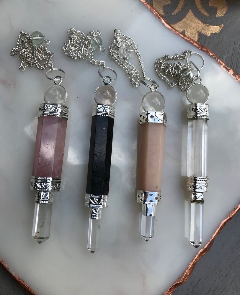 Image of Wand Crystal Pendulum