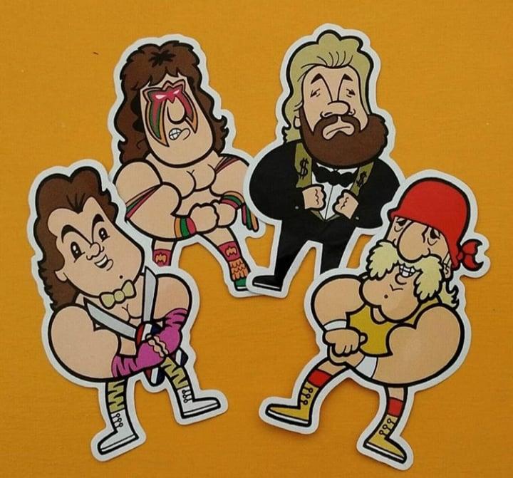 Image of WWF Sticker Pack.