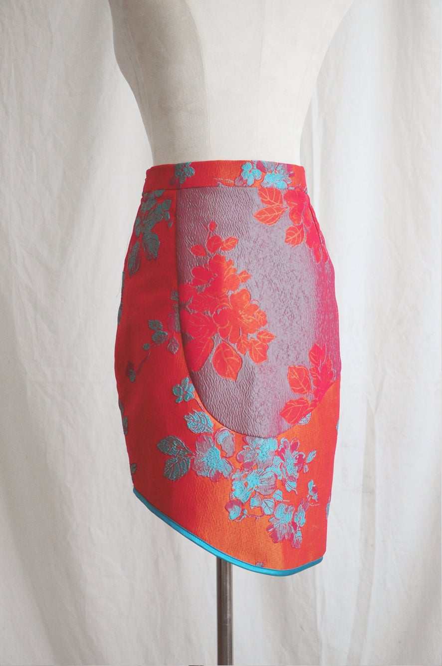 Image of EMBROIDERED SKIRT