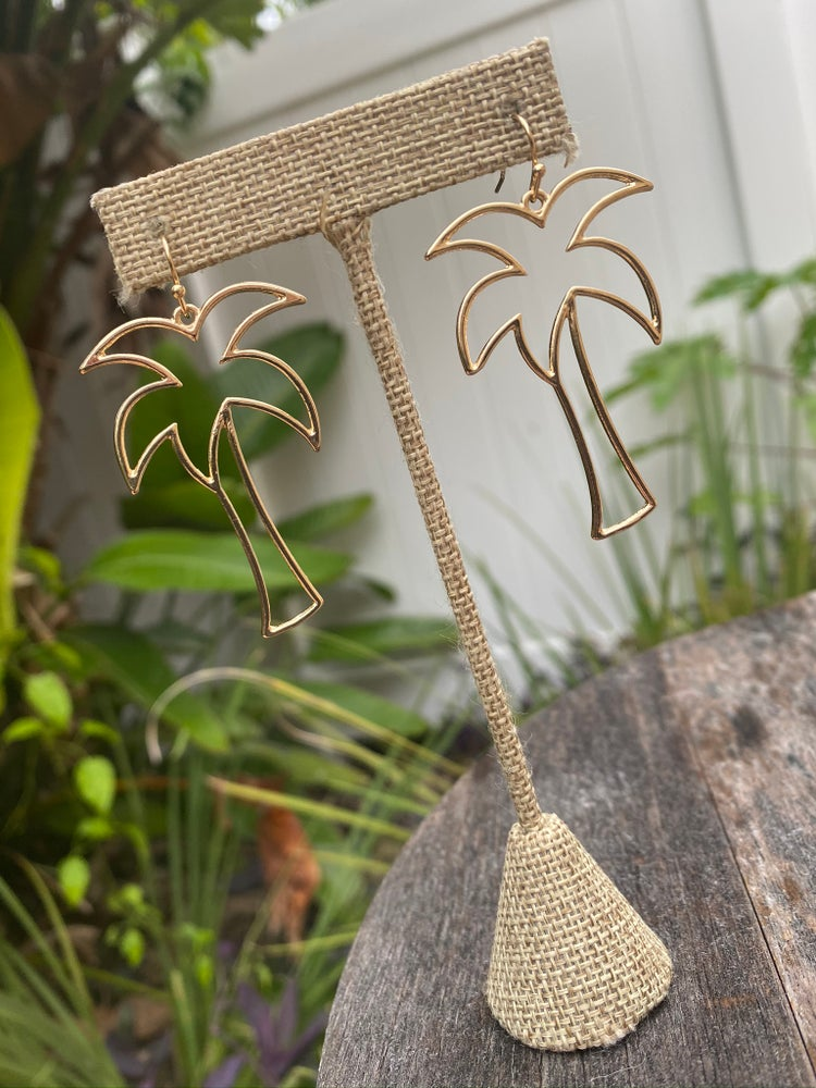 Image of Palm earrings