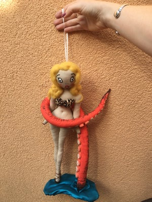 """Image of Octavia 14"""" Pin-up Doll with Tentacle"""