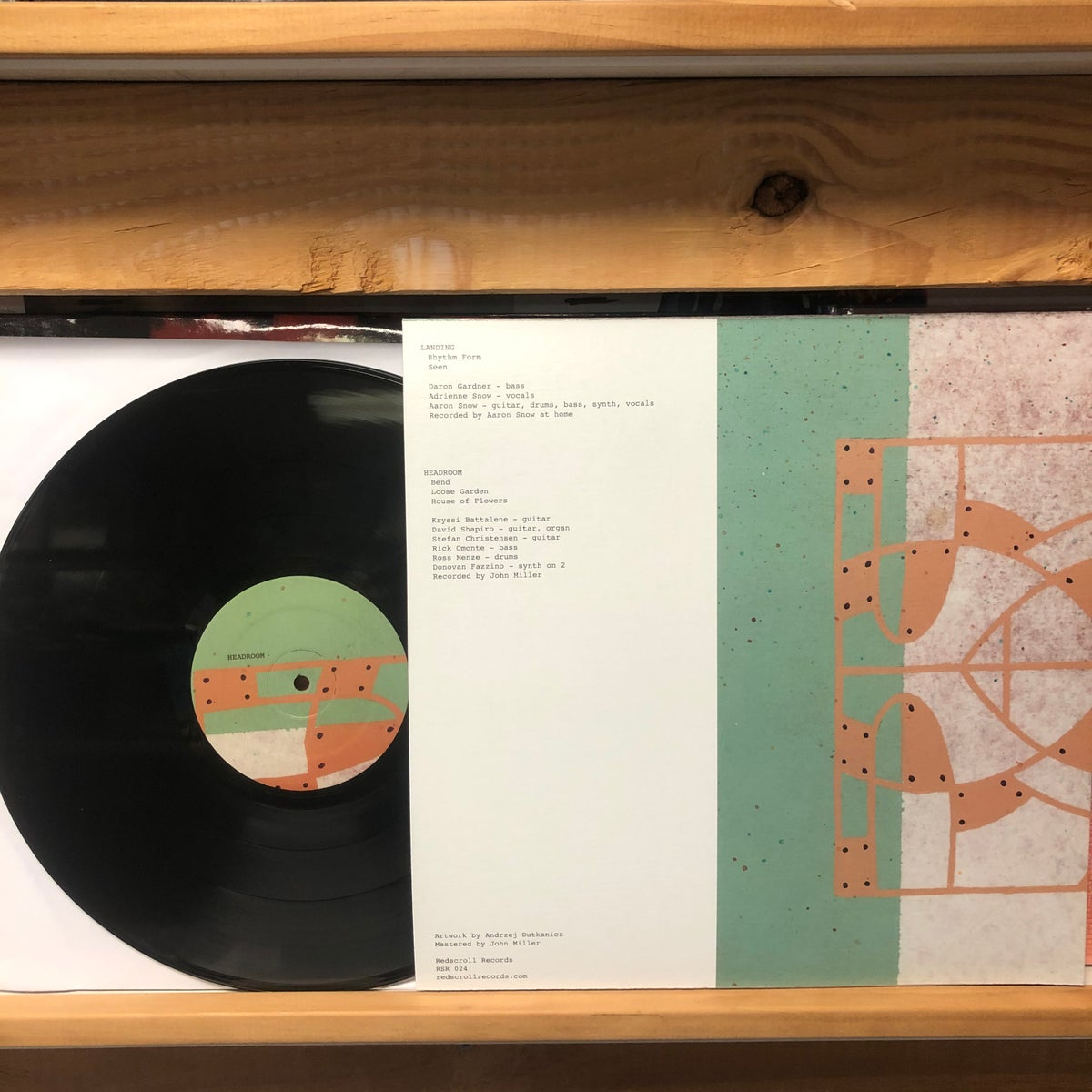 Image of [RSR-024] LANDING / HEADROOM LP