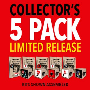 "Image of Tim Burton ""LOST VEGAS"" Complete Set (5 Kits)"