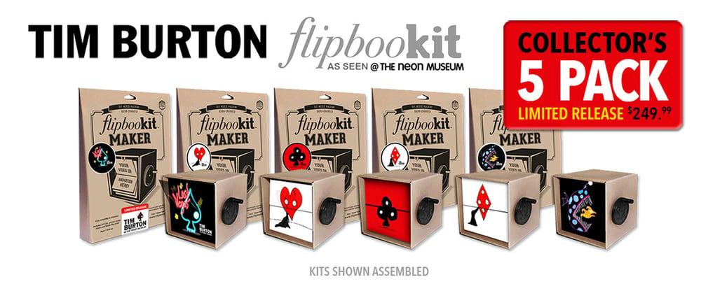 "Image of Tim Burton ""LOST VEGAS"" Complete Set (5 Kits)"