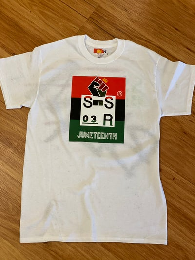 Image of BLM / Juneteenth Logo Tee