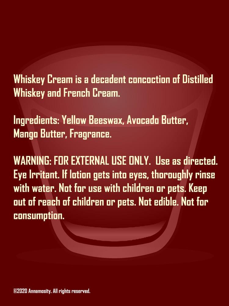 Image of Whiskey Cream - Lotion Bar