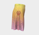 Image 3 of Geometric Virus Skater Skirt - Pink
