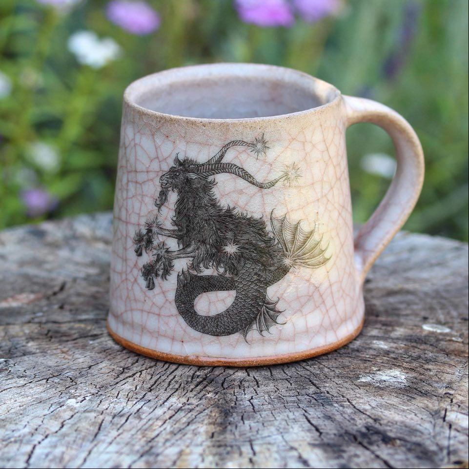 Image of Capricorn zodiac mug