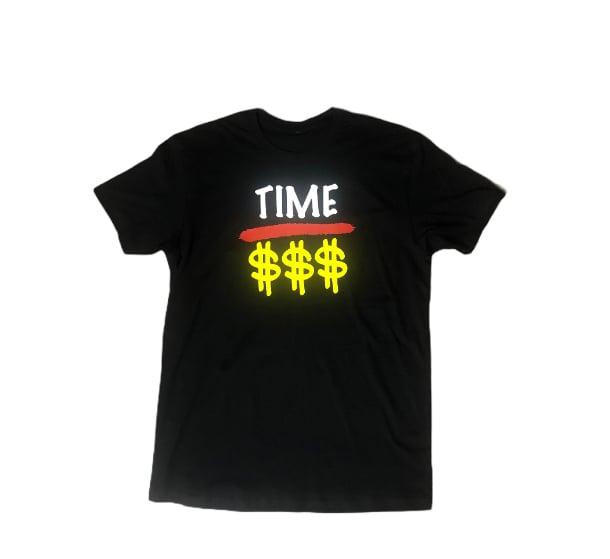 "Black ""Time Over Money"" Tee"
