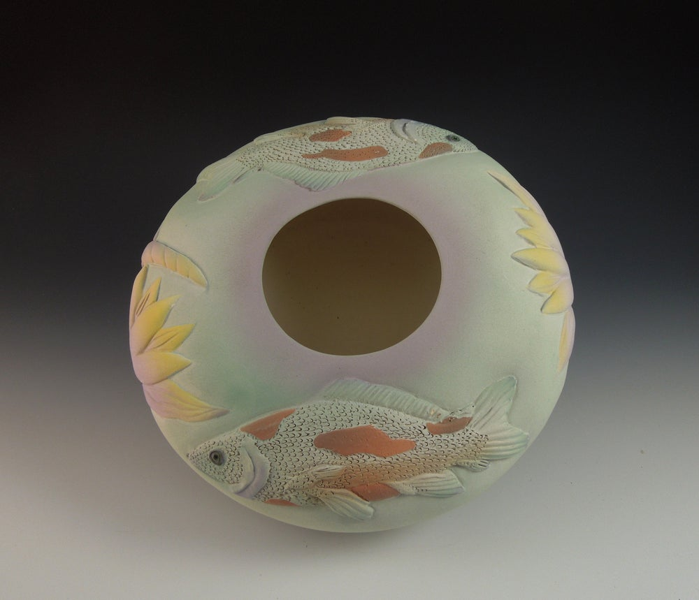 Image of Two Koi Bowl