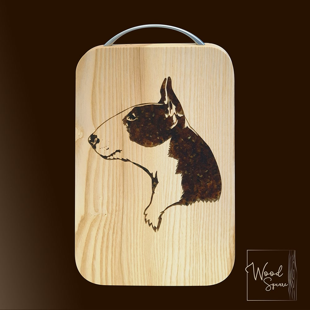 Image of Bull Terrier Chopping board