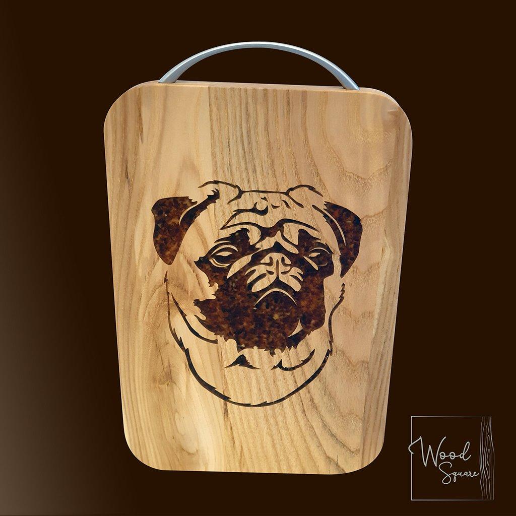 Image of Pug Chopping board