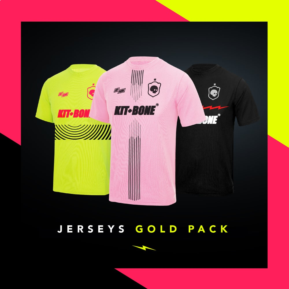 Image of GOLD PACK CUSTOM JERSEYS