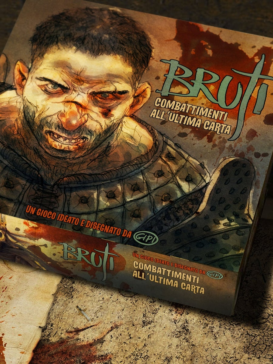 Image of BRUTI - DELUXE + bustine protettive per tutte le carte