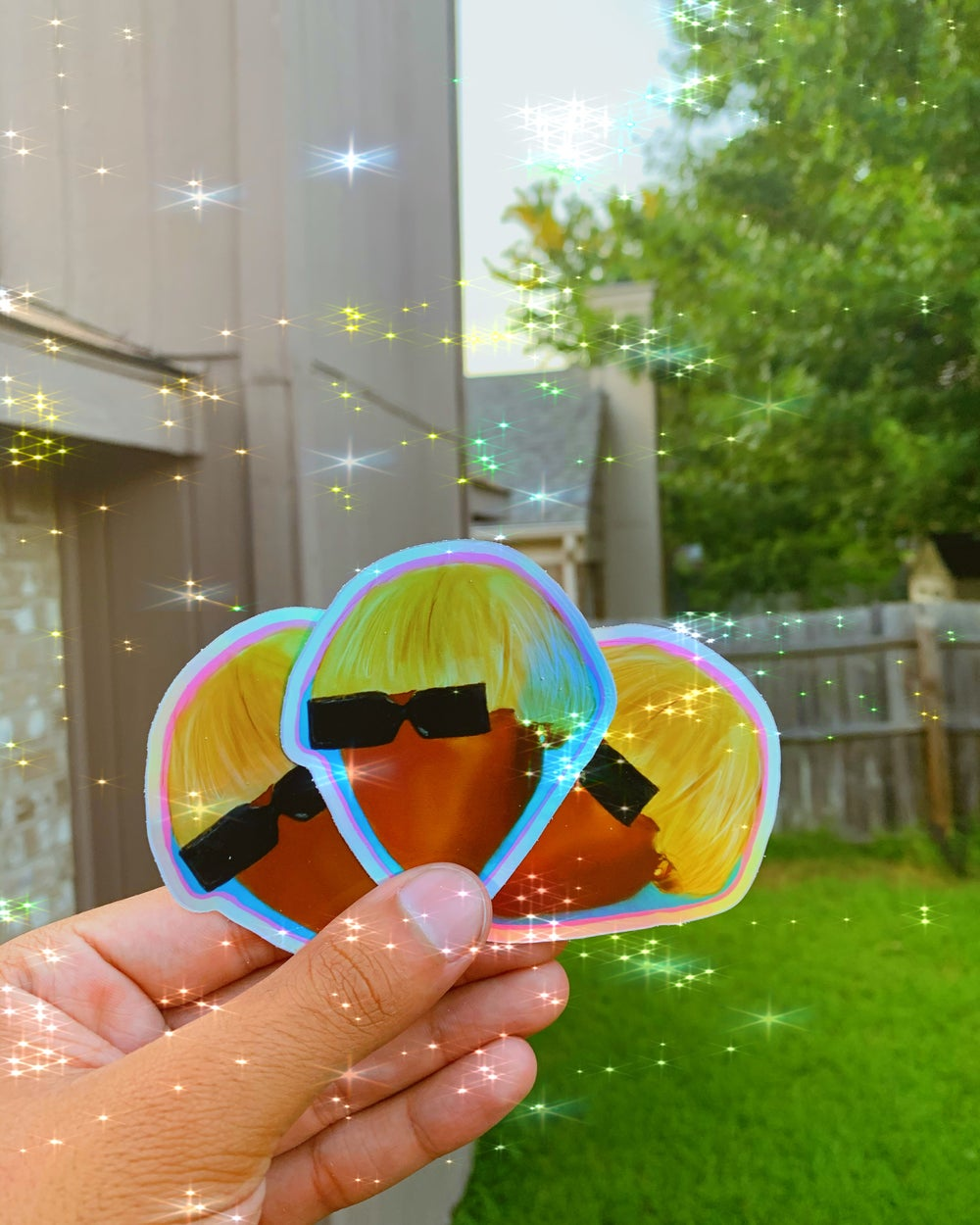 Image of Holographic IGOR Sticker