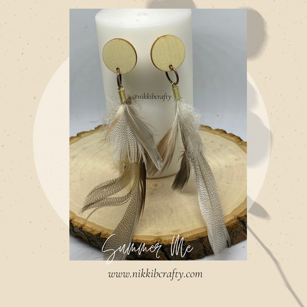 Image of Heather earrings :summer me collection