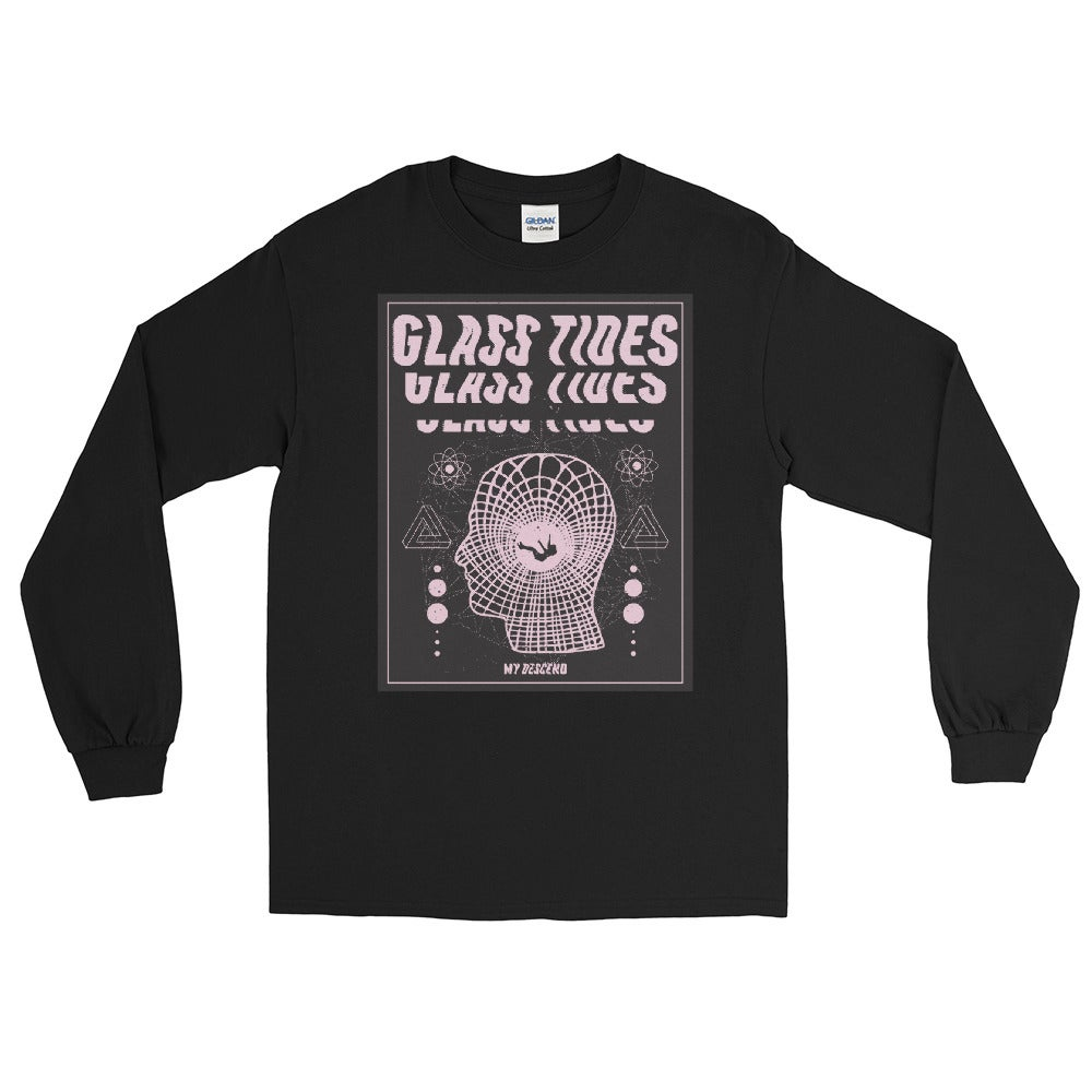 Image of Glass Tides - Men's Long Sleeve Shirt