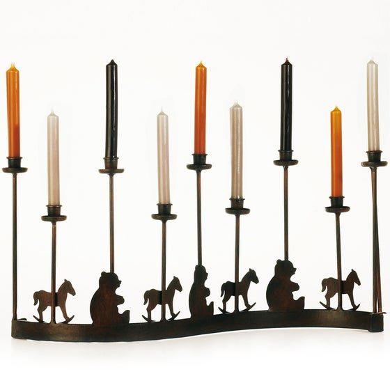 Image of Christmas Candle Centrepiece
