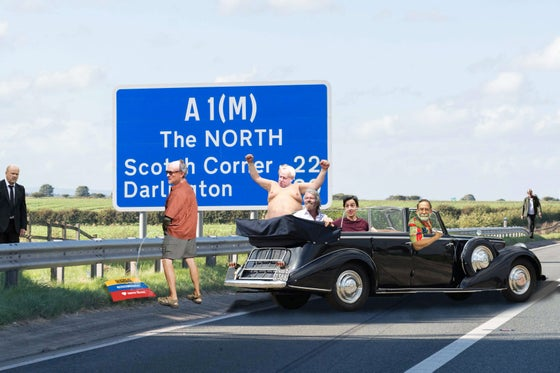 Image of Piss Stop on the A1(M)