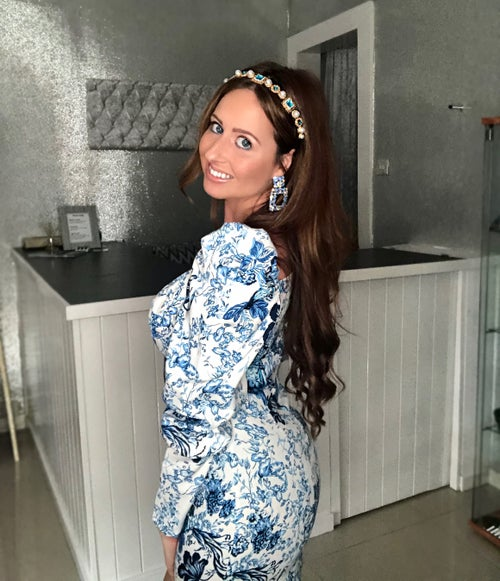 Image of Blue Willow Dress