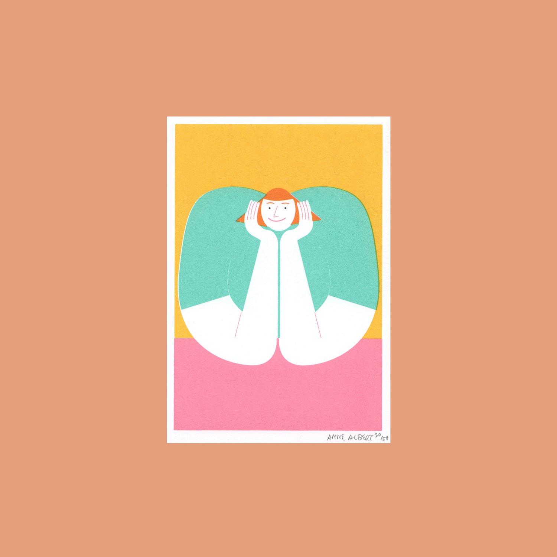 Image of Smile – 8,6 x 12,4 cm