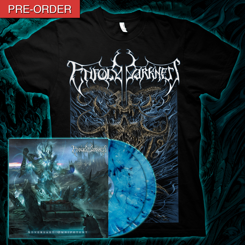 Image of ENFOLD DARKNESS - Adversary Omnipotent | LP Bundle [Sacred Variant]