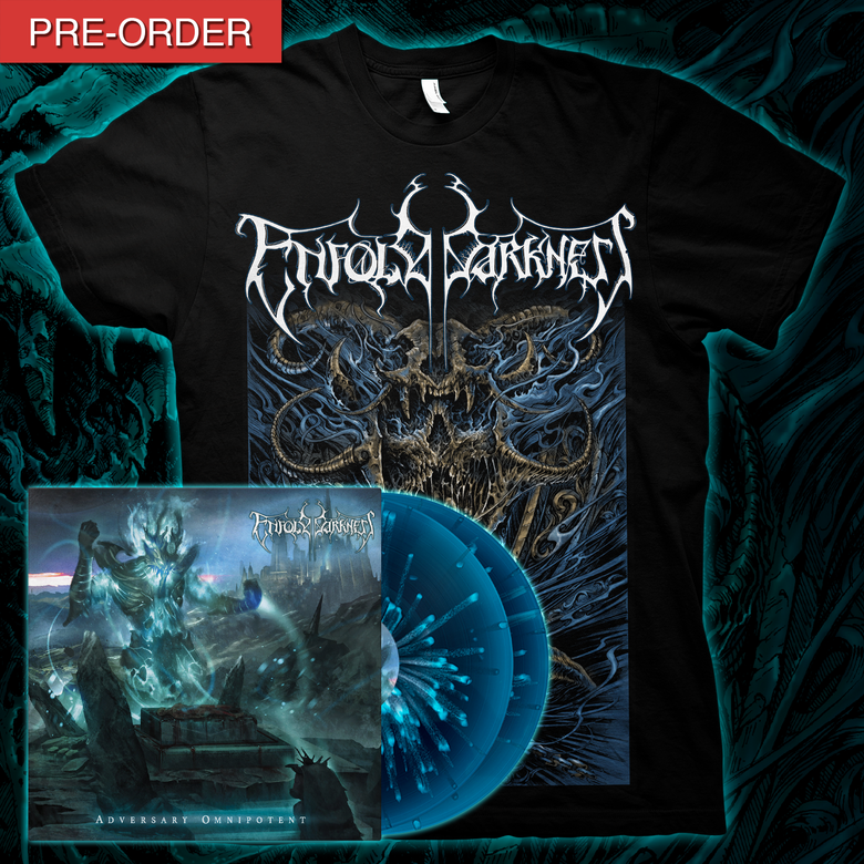 Image of ENFOLD DARKNESS - Adversary Omnipotent | LP Bundle [Dirge Variant]