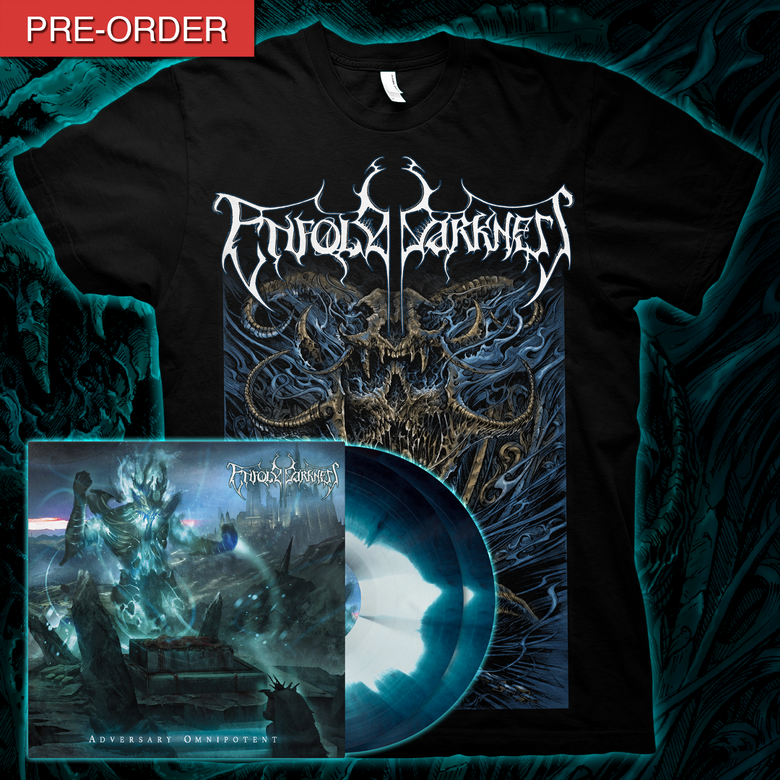 Image of ENFOLD DARKNESS - Adversary Omnipotent | LP Bundle [Archon Variant]