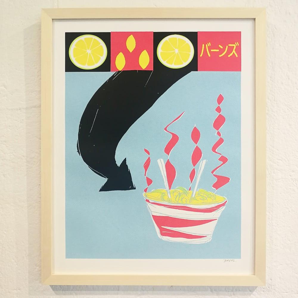 HOT NOODLES<br>(art-print)